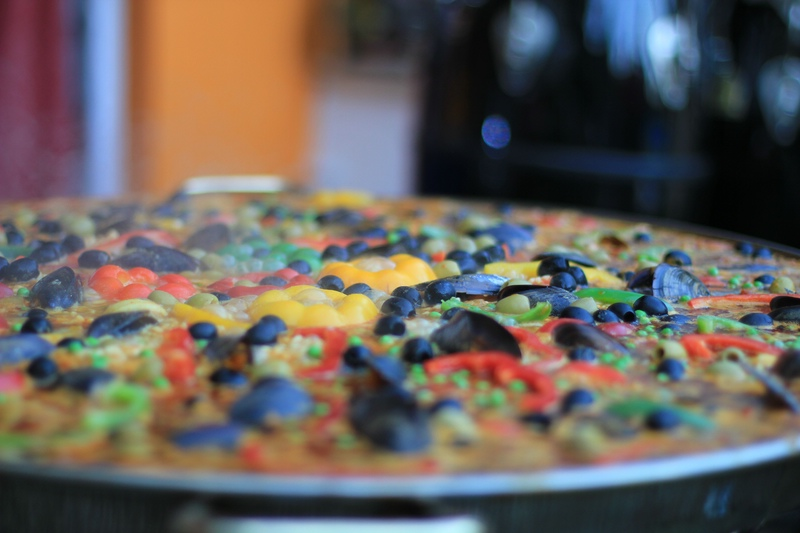 Paella mediteran, Vegan oder vegetarisch